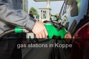 Gas stations in Koppe