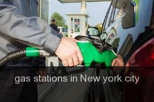 Gas stations in New york city